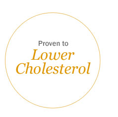 Proven to Lower Cholesterol